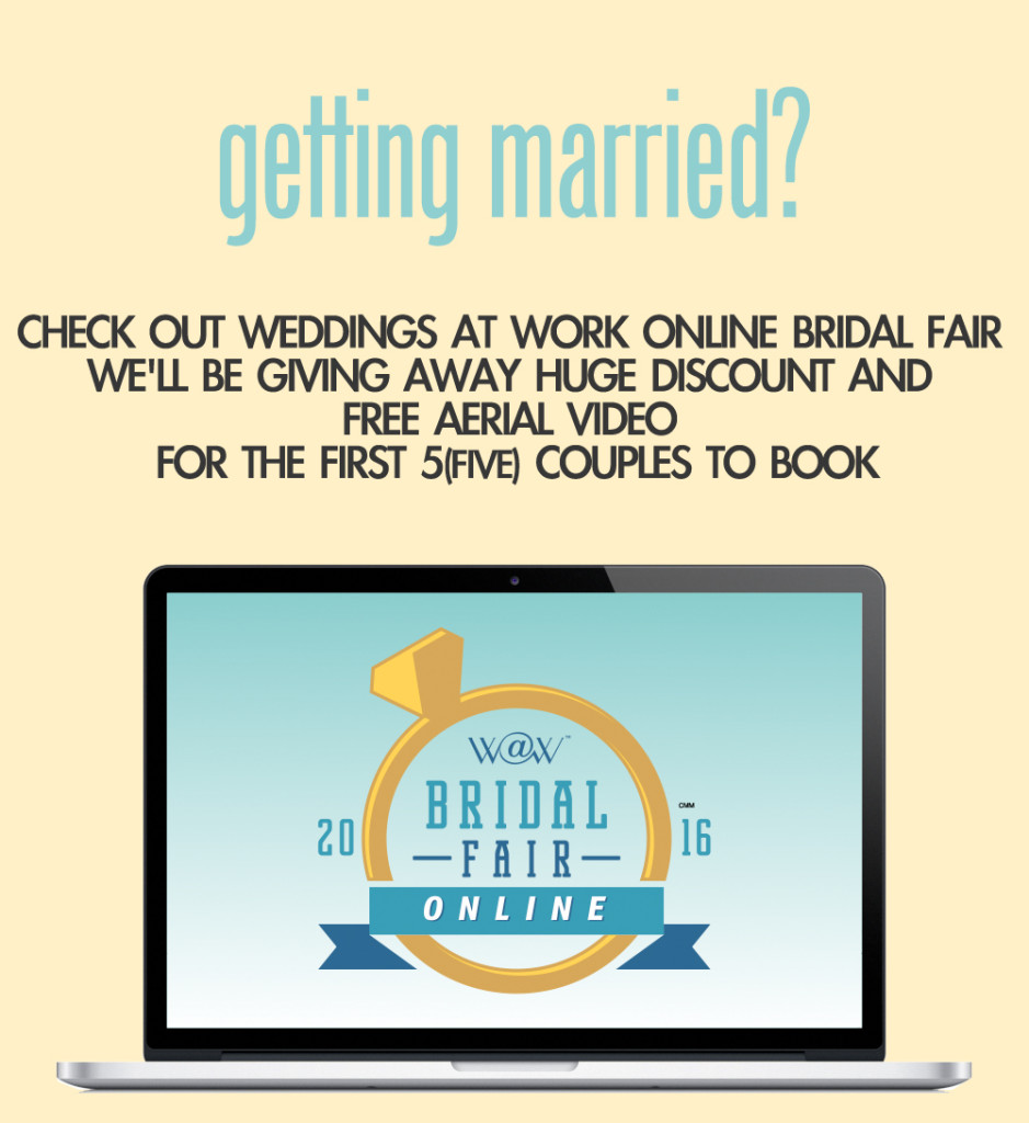 W@W Online Bridal Fair Ad